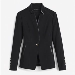 WHBM ONE BUTTON JACKET